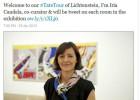 #tatetour, visitas guiadas al museo británico a través de Twitter