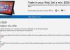 Microsoft da 200 dólares por los viejos iPad