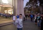 Colas para conseguir el primer iPhone 5S