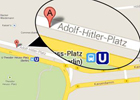 Google nombra por error una plaza de Berlín ?Adolf Hitler?