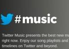 Twitter Music cierra el 18 de abril