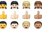 Apple moderniza los emoticonos de Whatsapp con colores de piel