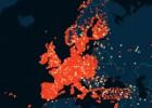 Un mapa localiza en 50.000 ciudades a los usuarios de Madison
