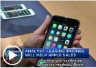 ¿Vendería Apple más iPhones si los alquilara a quienes no los compran?