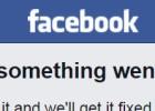 Facebook sufre una caída por segunda vez en una semana