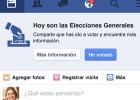 ?He votado?, nuevo botón de Facebook solo para las elecciones