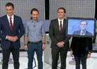 Rajoy, Sánchez e Iglesias, los tres políticos más citados en Twitter