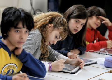 La escuela inteligente despega en España