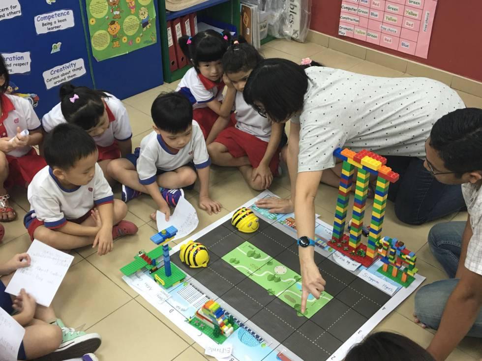 La escuela del futuro ya existe en singapur tecnolog a el pa s - Se necesita costurera para trabajar casa ...