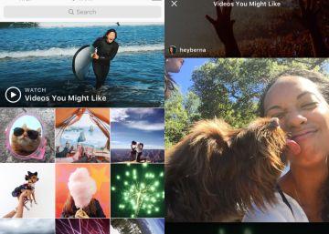 Instagram lanza en España su nuevo canal de vídeos personalizados