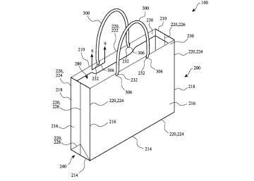 Apple patenta una bolsa de papel