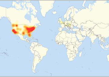 Dos ciberataques masivos inutilizan las webs de grandes compañías