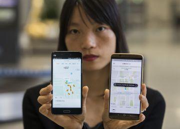 Usar Uber en China, misión casi imposible para los extranjeros