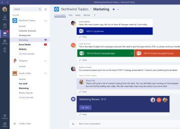 Microsoft va a la caza de Slack con Teams