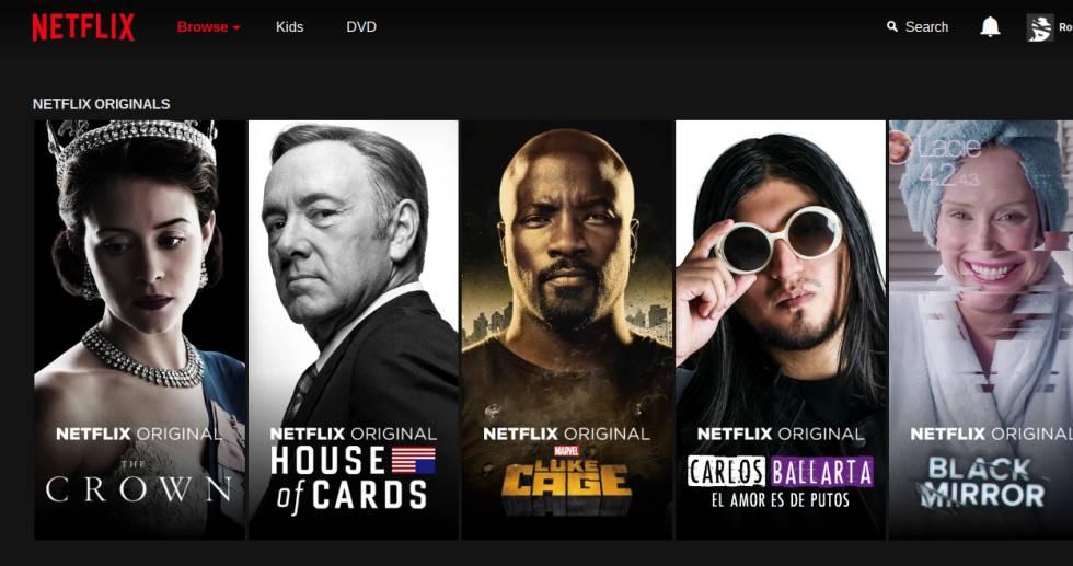 Netflix permite descargar las series sin coste adicional