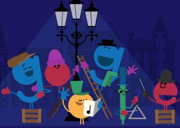 Google te desea felices fiestas con un ?doodle?