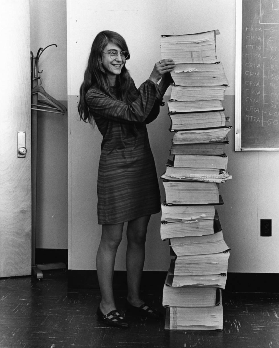 Margaret Hamilton, la mujer que nos llevó a la Luna