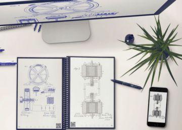El cuaderno con páginas reutilizables que se conecta con la nube