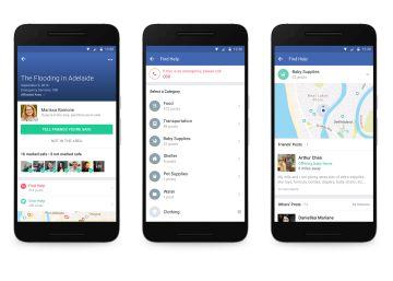 Facebook mejora su herramienta para ayudar en las catástrofes