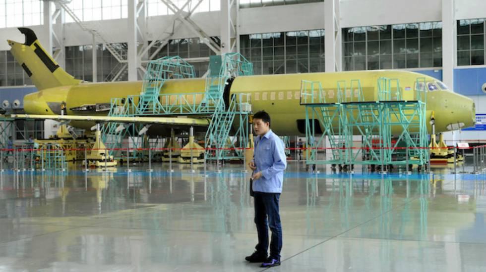 El 'made in China' llega a los aviones