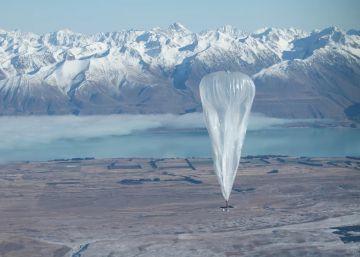Google prepara el lanzamiento de sus globos de conexión a Internet