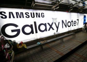 Samsung venderá móviles Galaxy Note 7 reparados