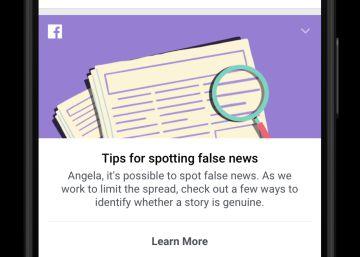 Facebook estrena un sistema para detectar las noticias falsas