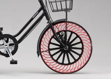 Bridgestone presenta una bicicleta sin aire en las ruedas