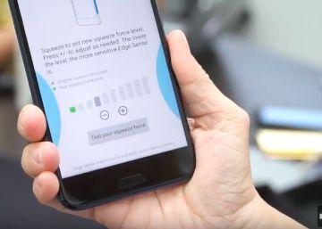 HTC U11, el primer ?smartphone? que se estruja