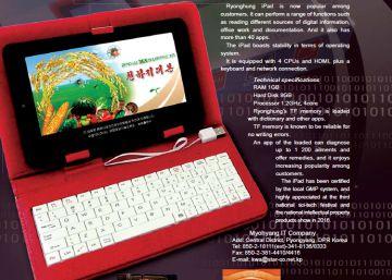 Un iPad hecho en Corea del Norte