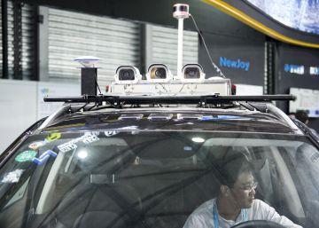 A bordo del coche autónomo chino