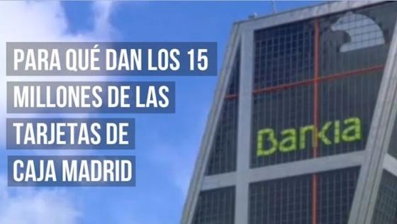 V deo v deo para qu dan los 15 millones de euros en for Caja madrid es oficina internet