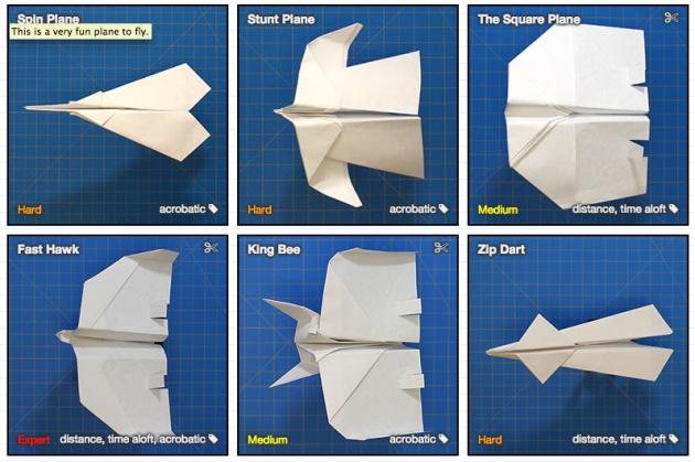 30 aviones de papel que puedes aprender a hacer ahora for Hacer planos online facil