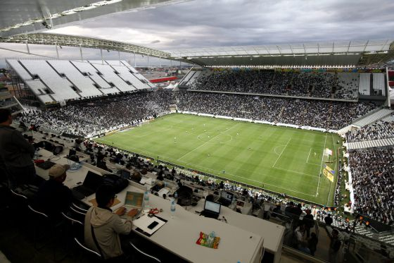 5fc3461d0b O estádio de abertura da Copa volta a ficar aquém das expectativas ...