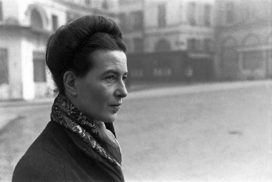 Simone De Beauvoir Parabéns Atingimos A Burrice Máxima Opinião