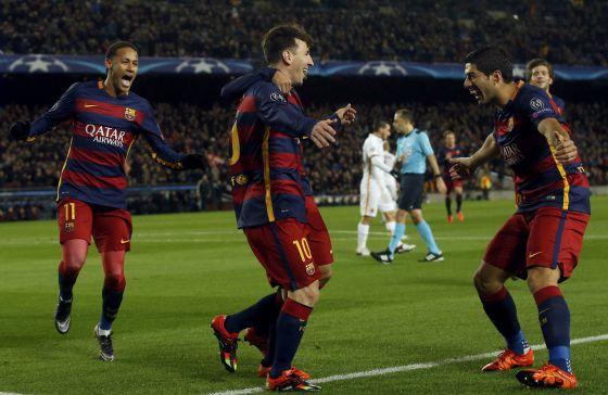 Barcelona vence a Roma por 6 a 1  173b6b6f43c70