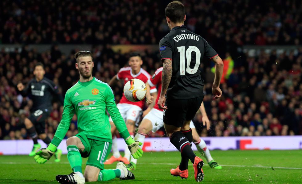 Liverpool empata por 1 a 1 e elimina o Manchester da Liga Europa ... c686f43bc2043