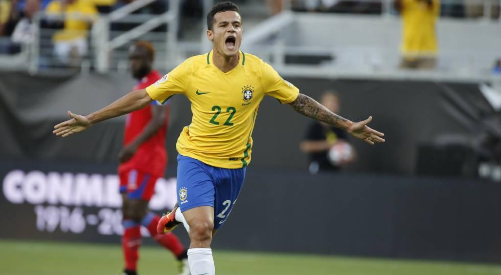 Resultado  Brasil vence o Haiti por 7 a 1 na Copa América  d88549c3c51a0