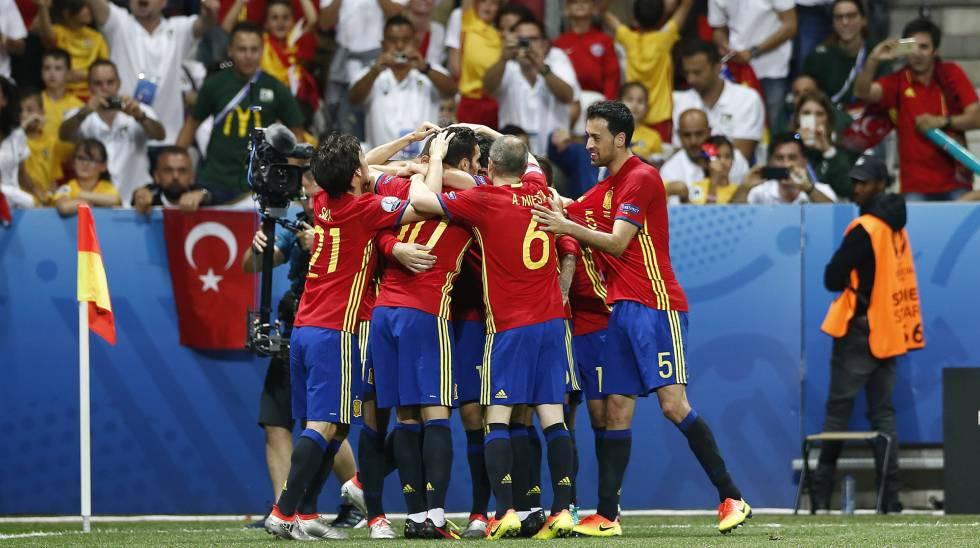 e5e730e8ea Resultado  Espanha vence a Turquia por 3 a 0 e se classifica na Eurocopa