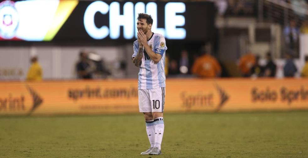 Resultado  Chile vence a Argentina e é campeão da Copa América Centenário  f367f61b70c