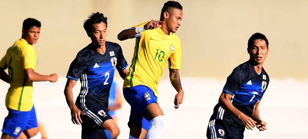 2b7954f0bc588 Resultado  Brasil vence o Japão por 2 a 0 em amistoso