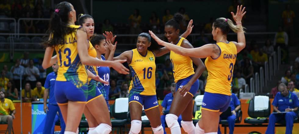 c28665c97f49e Brasil vence a Argentina por 3 sets a 0 no vôlei feminino na ...