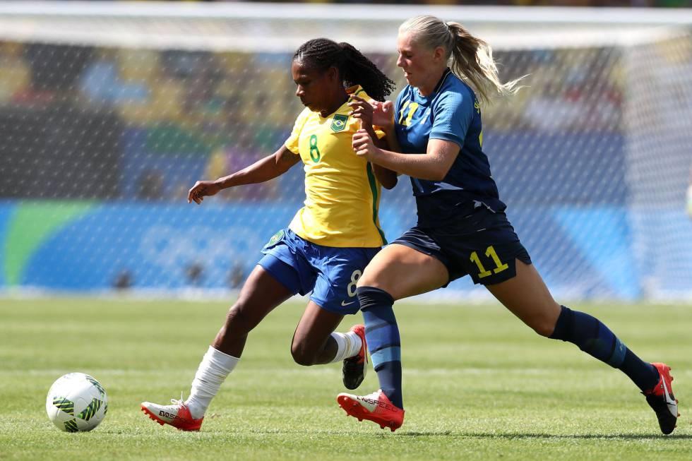 Resultado  Brasil perde para a Suécia nos pênaltis e vai disputar o ... 526a61a85d26f