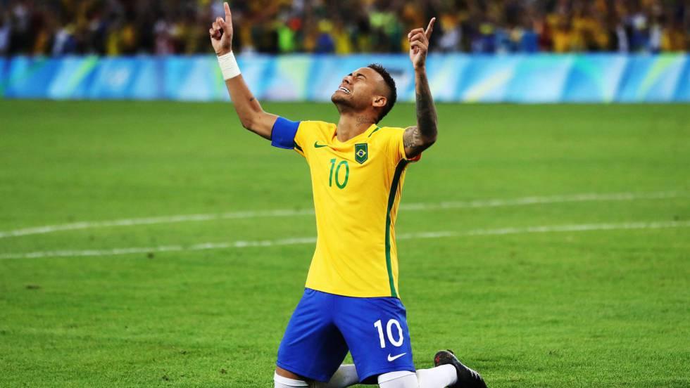 3f5ab5fc21ac6 Brasil vence a Alemanha nos pênaltis e é campeão do futebol masculino na  Olimpíada