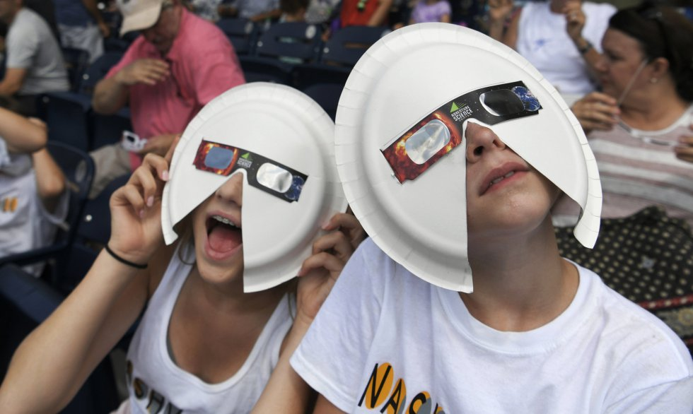O eclipse solar pelo mundo: veja as imagens do fenômeno