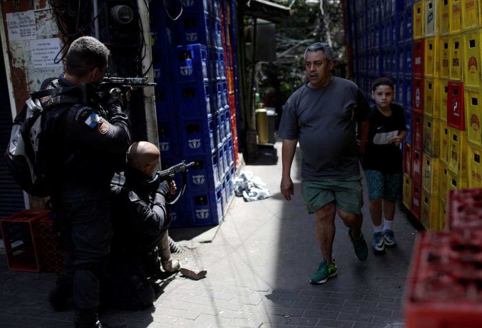 O dia de tensão na Rocinha depois de tiroteios