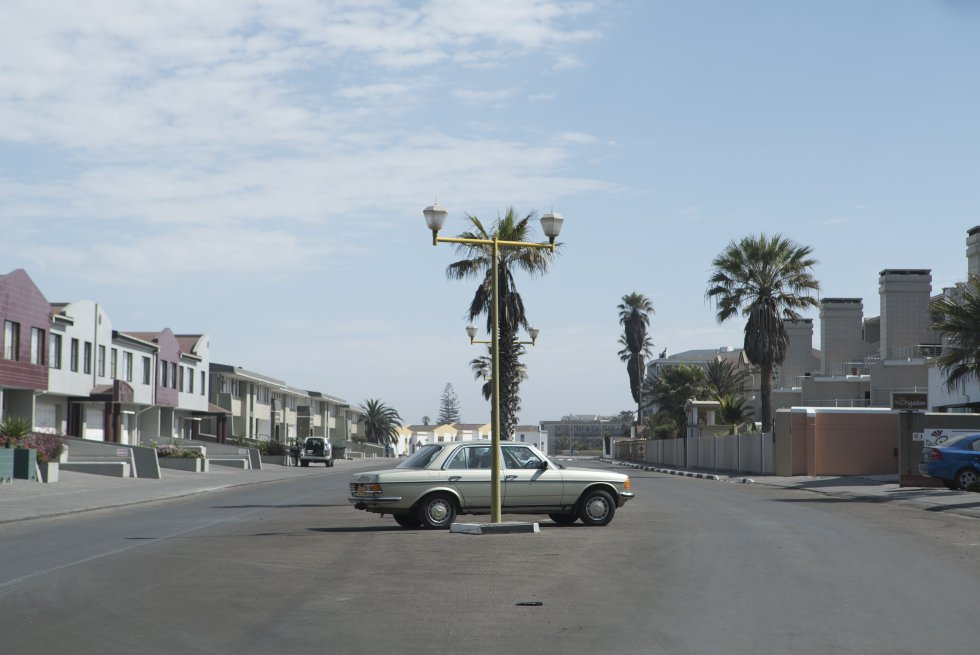 """No sul da África, a Namíbia permaneceu como colônia alemã até o fim da Primeira Guerra Mundial. """"O país ainda preserva uma arquitetura alemã no meio do deserto, o que dá uma sensação de um grande parque temático"""", conta o fotógrafo Maurício Pisani."""
