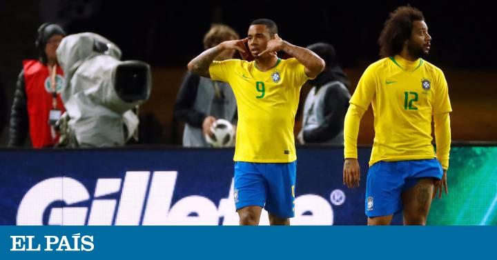69f5fcaeca Brasil derrota Alemanha por 1 a 0 com gol de Gabriel Jesus em amistoso