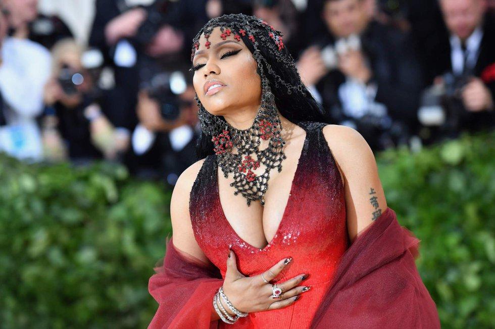 Nicki Minaj no MET Gala 2018