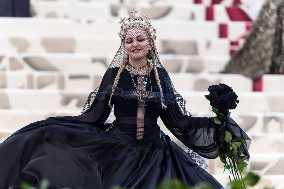 Madonna no Met Gala 2018.